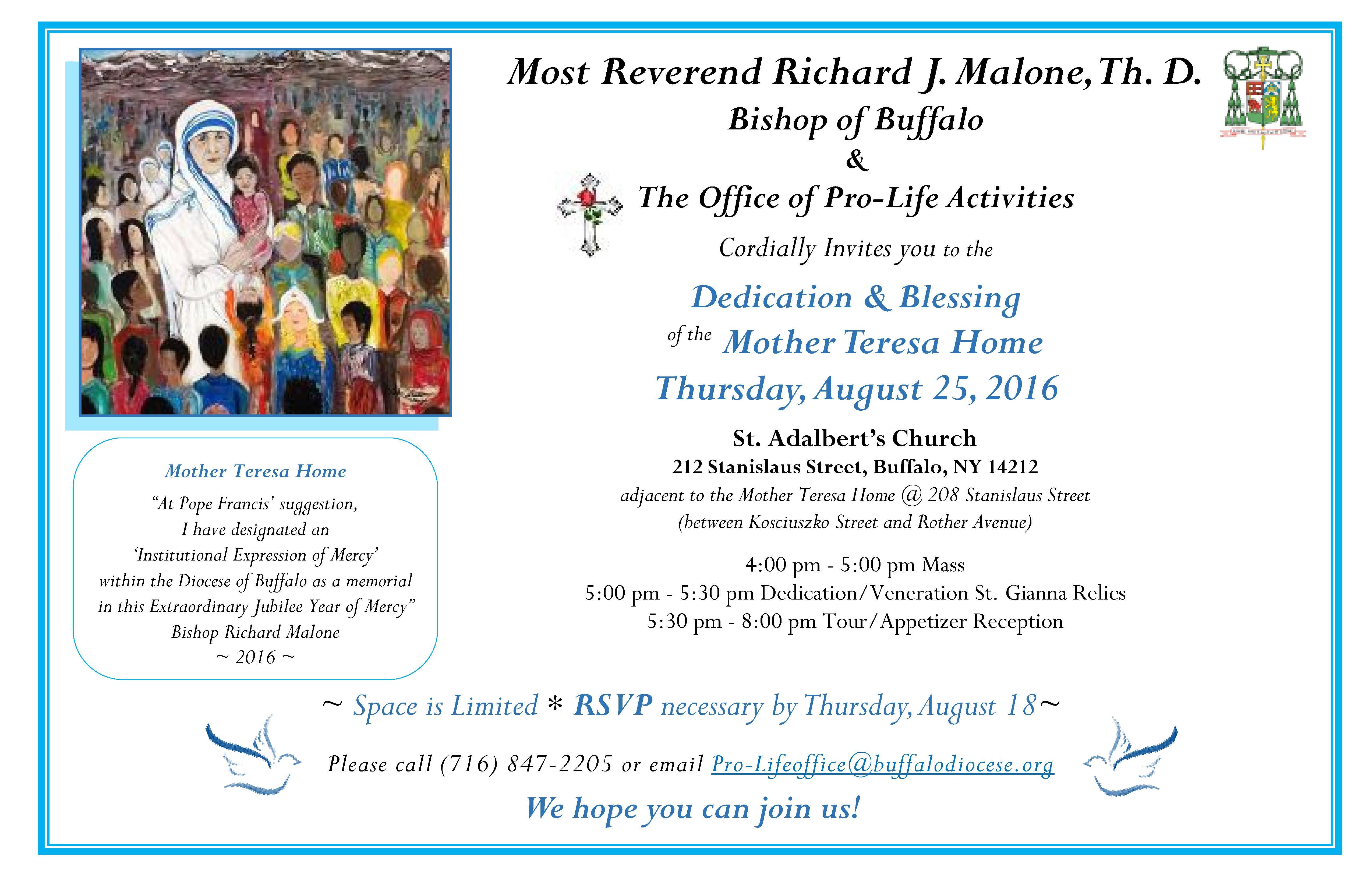 office blessing invitation